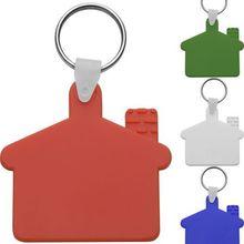 Ház formájú kulcstartó