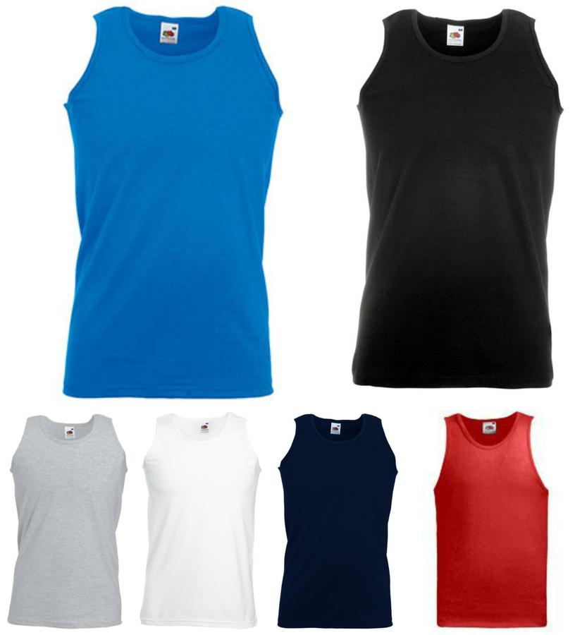 1236fa6501 Athletic Vest- Fruit of the Loom, valueweight - F06 Athletic Vest- Fruit of