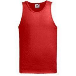 Athletic Vest- Fruit of the Loom, valueweight - F06 Athletic Vest- Fruit of the Loom piros.jpg