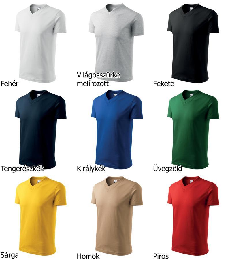 Reklámtárgy expressz - V nyakú póló - Fruit V-nyakú póló - F08 1cac98e4e5